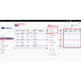 fully shipped, partial shipped, fully paid, partially paid fields in purchase order tree view and filters.