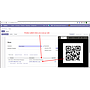 Scan QRCode then product automatic added and if the product already existed then ordered qty increased by 1.